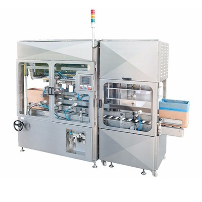 Full automatic carton inserting machine